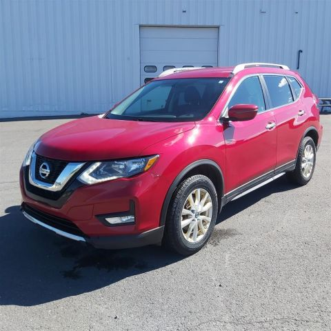 Certified Pre-Owned 2017 Nissan Rogue SV AWD CVT All Wheel Drive Crossover